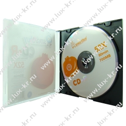 Диск CD-R  700Mb Smart Buy, 52x, Slim Case