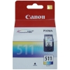 Картридж Canon CL-511 для PiXMA MP240/260/490/250/270, IP2700, MX320/330, цветной (2972B007)