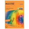 Бумага Maestro Color  NEON ORANGE, А4, 500л, 80г/м2, ярко-оранж., в пачках