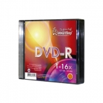 Диск DVD+R 4,7Gb Smart Buy, 16x, Slim Case